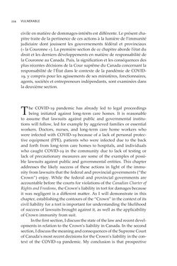 Image of the Page - 224 - in VULNERABLE - The Law, Policy and Ethics of COVID-19