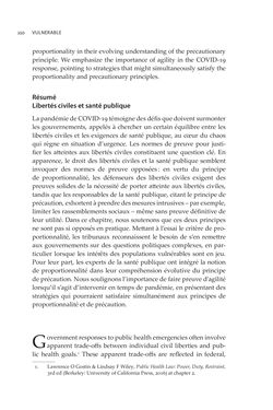 Bild der Seite - 250 - in VULNERABLE - The Law, Policy and Ethics of COVID-19