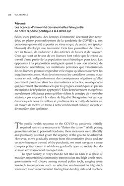 Image of the Page - 278 - in VULNERABLE - The Law, Policy and Ethics of COVID-19