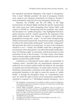 Bild der Seite - 303 - in VULNERABLE - The Law, Policy and Ethics of COVID-19