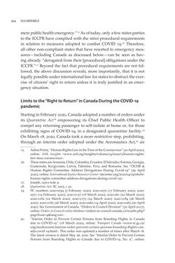 Image of the Page - 304 - in VULNERABLE - The Law, Policy and Ethics of COVID-19