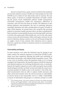 Bild der Seite - 318 - in VULNERABLE - The Law, Policy and Ethics of COVID-19