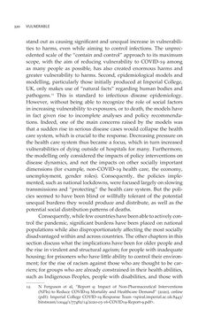 Image of the Page - 320 - in VULNERABLE - The Law, Policy and Ethics of COVID-19