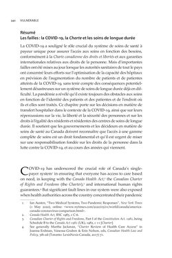 Bild der Seite - 340 - in VULNERABLE - The Law, Policy and Ethics of COVID-19
