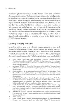 Bild der Seite - 342 - in VULNERABLE - The Law, Policy and Ethics of COVID-19
