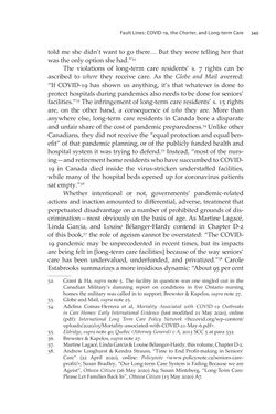 Bild der Seite - 349 - in VULNERABLE - The Law, Policy and Ethics of COVID-19