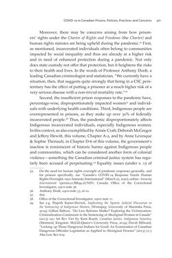 Bild der Seite - 377 - in VULNERABLE - The Law, Policy and Ethics of COVID-19