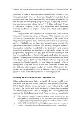 Bild der Seite - 403 - in VULNERABLE - The Law, Policy and Ethics of COVID-19