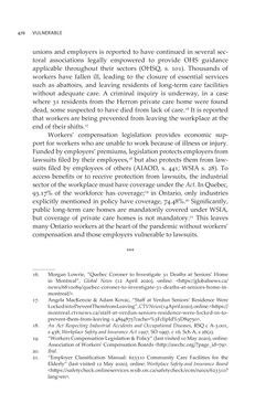 Bild der Seite - 478 - in VULNERABLE - The Law, Policy and Ethics of COVID-19