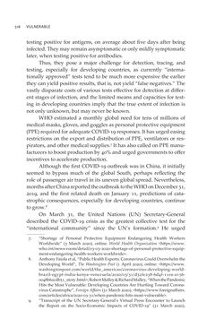 Image of the Page - 518 - in VULNERABLE - The Law, Policy and Ethics of COVID-19