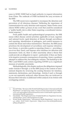 Bild der Seite - 536 - in VULNERABLE - The Law, Policy and Ethics of COVID-19