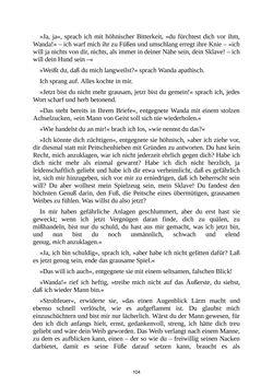 Image of the Page - 104 - in Venus im Pelz