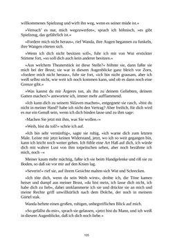 Bild der Seite - 105 - in Venus im Pelz