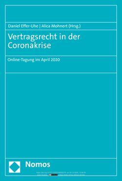 Bild der Seite - (000001) - in Vertragsrecht in der Coronakrise