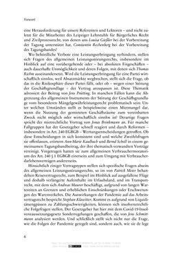 Bild der Seite - 6 - in Vertragsrecht in der Coronakrise