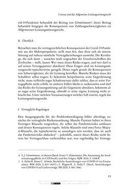 Bild der Seite - 13 - in Vertragsrecht in der Coronakrise