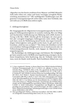 Bild der Seite - 16 - in Vertragsrecht in der Coronakrise