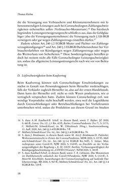 Bild der Seite - 18 - in Vertragsrecht in der Coronakrise