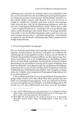 Bild der Seite - 21 - in Vertragsrecht in der Coronakrise
