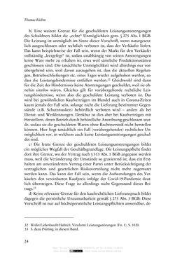 Bild der Seite - 24 - in Vertragsrecht in der Coronakrise