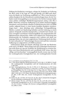 Bild der Seite - 29 - in Vertragsrecht in der Coronakrise