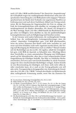 Bild der Seite - 30 - in Vertragsrecht in der Coronakrise