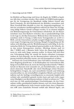 Bild der Seite - 33 - in Vertragsrecht in der Coronakrise