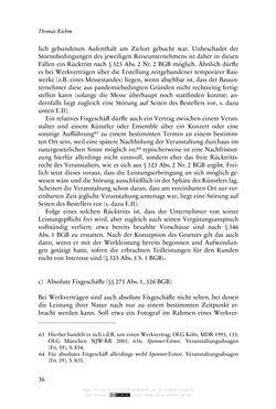 Bild der Seite - 36 - in Vertragsrecht in der Coronakrise