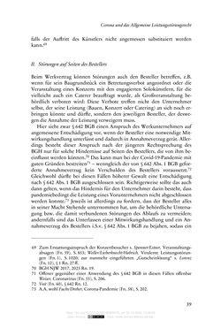 Bild der Seite - 39 - in Vertragsrecht in der Coronakrise