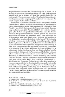 Image of the Page - 40 - in Vertragsrecht in der Coronakrise