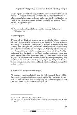 Bild der Seite - 63 - in Vertragsrecht in der Coronakrise