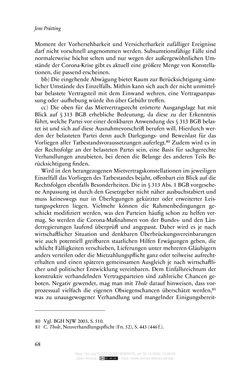 Bild der Seite - 68 - in Vertragsrecht in der Coronakrise