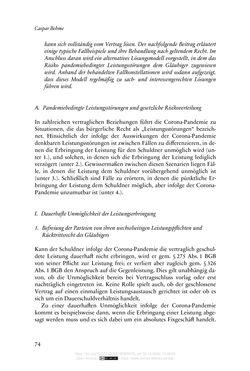 Bild der Seite - 74 - in Vertragsrecht in der Coronakrise