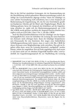 Bild der Seite - 75 - in Vertragsrecht in der Coronakrise