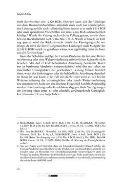 Bild der Seite - 76 - in Vertragsrecht in der Coronakrise