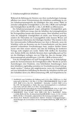 Bild der Seite - 77 - in Vertragsrecht in der Coronakrise