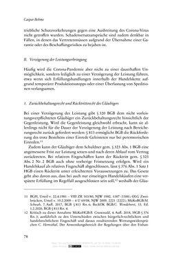 Bild der Seite - 78 - in Vertragsrecht in der Coronakrise