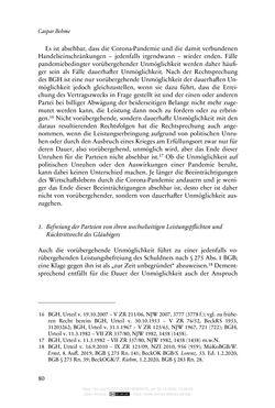 Bild der Seite - 80 - in Vertragsrecht in der Coronakrise