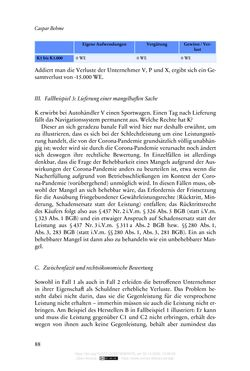 Image of the Page - 88 - in Vertragsrecht in der Coronakrise
