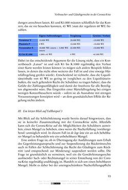 Bild der Seite - 93 - in Vertragsrecht in der Coronakrise