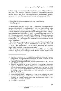 Bild der Seite - 105 - in Vertragsrecht in der Coronakrise