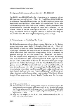 Bild der Seite - 110 - in Vertragsrecht in der Coronakrise