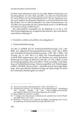 Bild der Seite - 120 - in Vertragsrecht in der Coronakrise