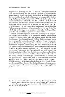 Bild der Seite - 126 - in Vertragsrecht in der Coronakrise