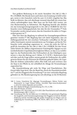 Bild der Seite - 142 - in Vertragsrecht in der Coronakrise