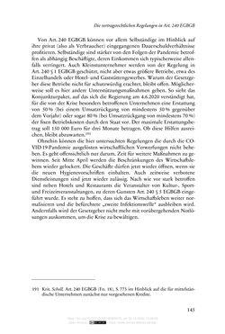 Bild der Seite - 145 - in Vertragsrecht in der Coronakrise