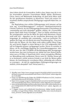 Bild der Seite - 148 - in Vertragsrecht in der Coronakrise