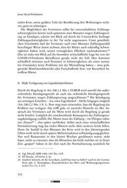 Bild der Seite - 152 - in Vertragsrecht in der Coronakrise