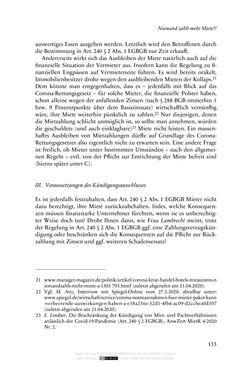 Bild der Seite - 153 - in Vertragsrecht in der Coronakrise