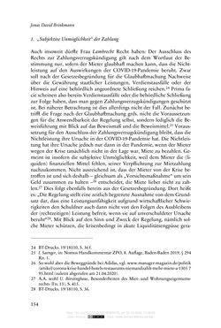 Bild der Seite - 154 - in Vertragsrecht in der Coronakrise